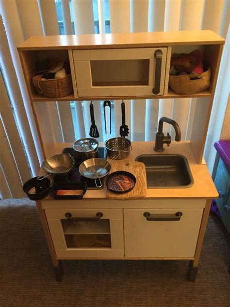 Play Kitchen Solid Wood + Accessories (furniture) In