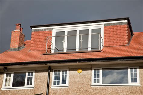 Dormer Windows Uk by Re Roof Roof Re Design Rear Dormer Window And Balcony