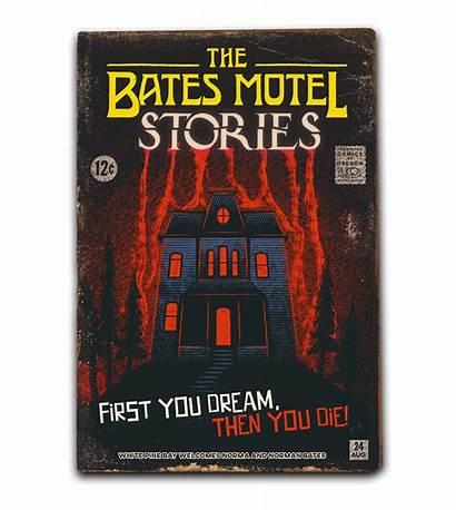 Motel Bates Behance Bass Movie