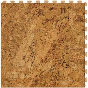 shop perfection floor tile wood 6 20 in x 20 in cork locking wood luxury vinyl