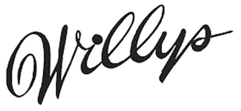 willys overland logo willys cartype