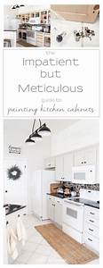 the impatient but meticulous person39s guide to painting With kitchen colors with white cabinets with car sponsor stickers