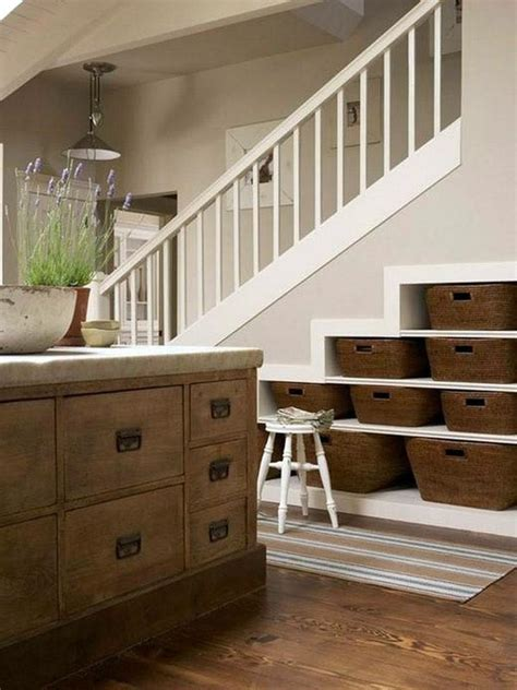 See more ideas about stair storage, under stairs, understairs storage. Super creative under stairs storage ideas - shelves and ...