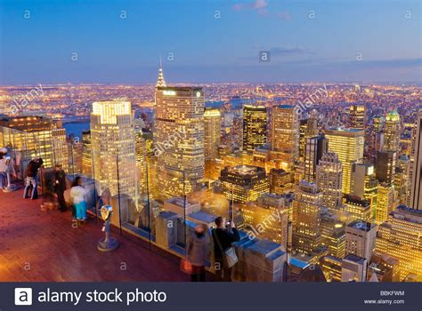View Of Midtown Manhattan From Top Of The Rock 30