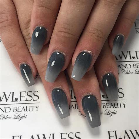 grey ombre nailpro