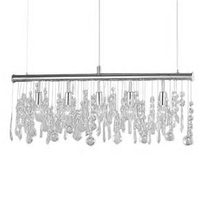 pendelleuchte wohnzimmer pendelleuchte hängele le esszimmer wohnzimmer silber kristall metall neu ebay