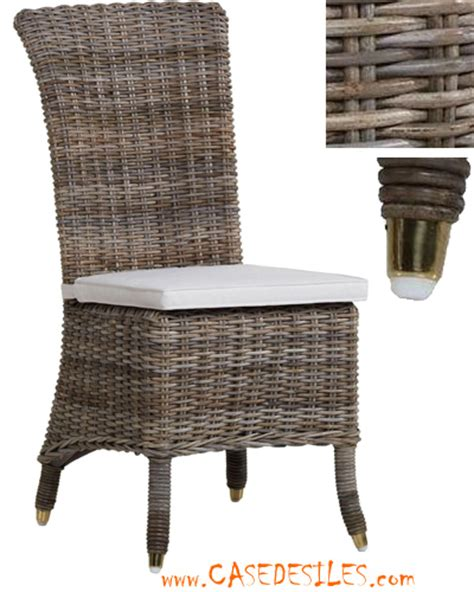 chaise en rotin pas cher chaise rotin pas cher mobilier sur enperdresonlapin