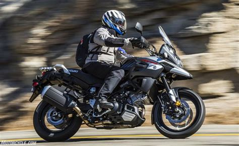 suzuki v strom 1000 xt 2018 suzuki v strom 1000 and v strom 1000xt review motorcycle