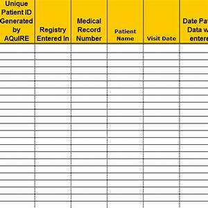 best photos of hospital phone directory template excel With patient tracking template
