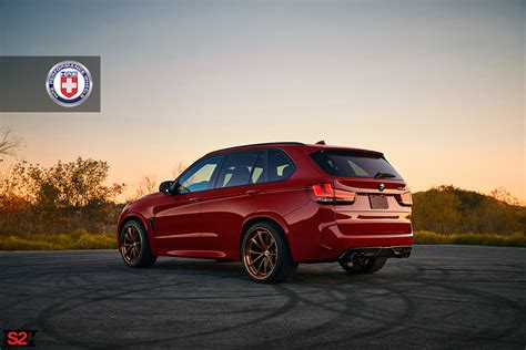 red bmw classy melbourne red bmw x5 m with hre wheels