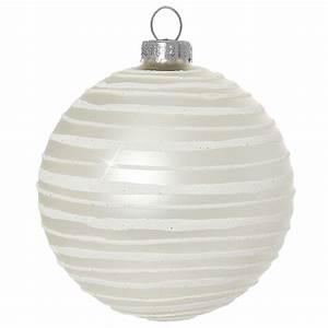 Weihnachtskugeln Weiß Silber : sikora christbaumkugeln aus glas mit moderner verzierung scandic stripes creme weiss 4er ~ Sanjose-hotels-ca.com Haus und Dekorationen