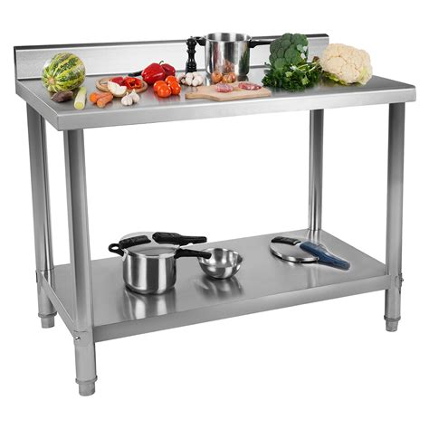 stainless steel kitchen work tables india commercial stainless steel catering work table kitchen