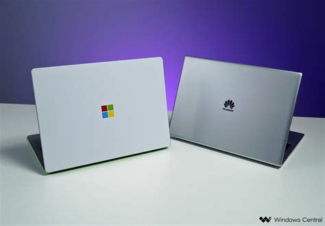 microsoft surface laptop vs huawei matebook x pro which should you buy windows central