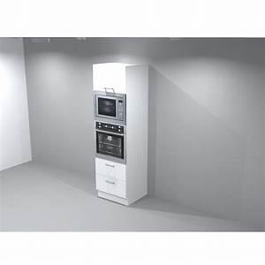 micro onde encastrable meuble haut 4 colonne four micro With meuble pour micro onde encastrable