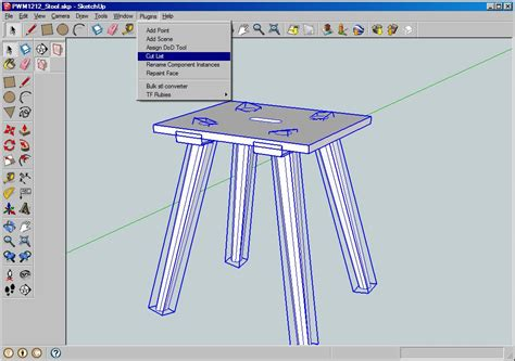 cabinet design software with cutlist cutlist sketchup extension warehouse