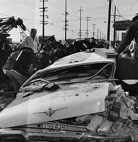 Seattle Earthquake 1965 Damage