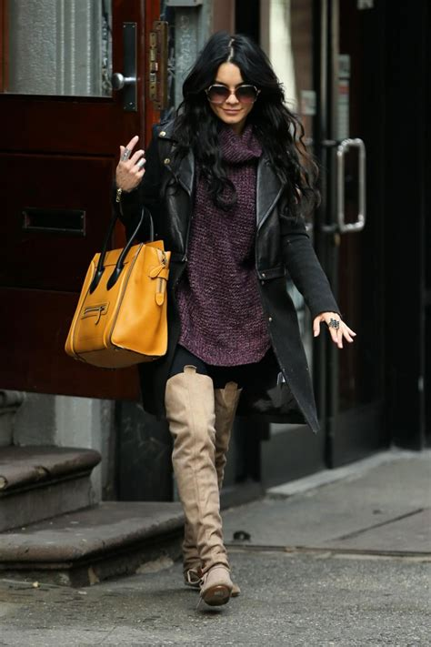 VANESSA HUDGENS Out for Breakfast in New York – HawtCelebs