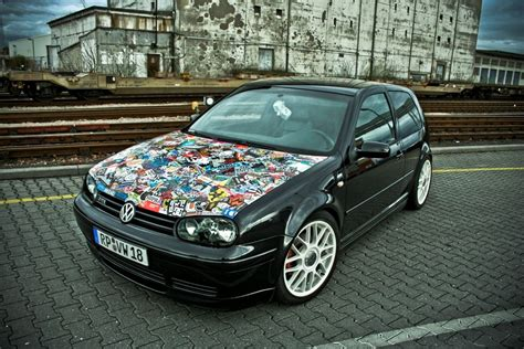 Volkswagen #stickerbomb #carwrapping #wrap #vehicle