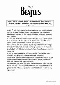 The Beatles + Song: Yellow Submarine worksheet - Free ESL ...