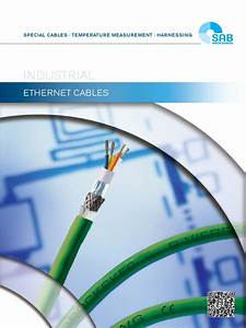 Industrial Ethernet Cables Cat5 Cat6