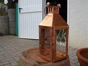 Kupfer Laterne Windlicht : multistore 2002 schickes 2tlg laternen set h31 44cm mit ledergriff kupfer laterne windlicht ~ Sanjose-hotels-ca.com Haus und Dekorationen