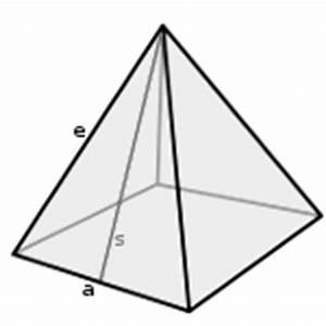 Quadratische Pyramide A Berechnen : quadratische pyramide geometrie rechner ~ Themetempest.com Abrechnung
