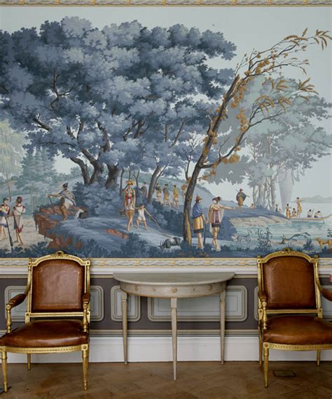 Colonial Mural Wallpaper For Home  Joy Studio Design