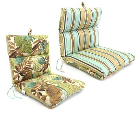 manufacturing co inc knife edge chair cushion at
