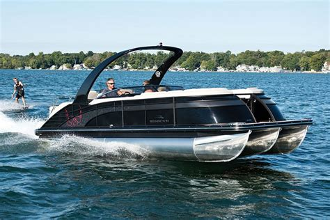 Mini Pontoon Boats For Sale Mn by 2016 Bennington 2552 Qcw I O Power Boats Inboard Albert