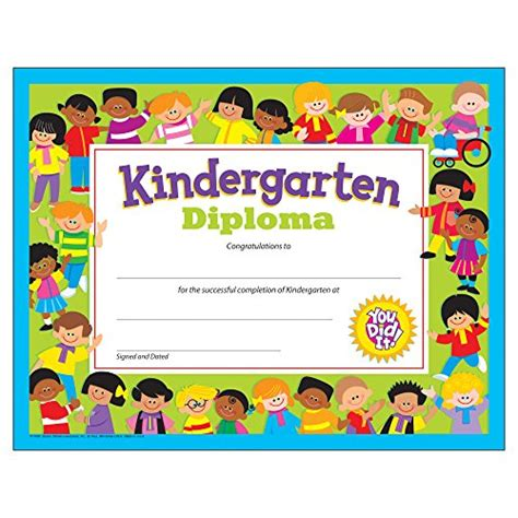 kindergarten graduation certificates 355 | 61PgtnRtFBL. US500