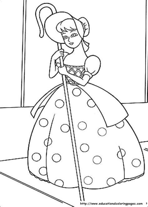 Toy Story Coloring sheets Educational Fun Kids Coloring