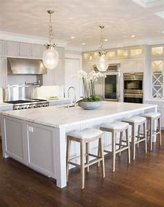 best 25 white kitchens ideas on pinterest white diy With kitchen colors with white cabinets with large chicago wall art