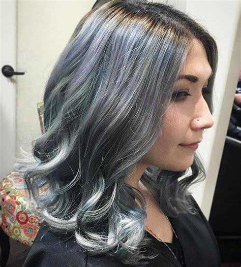 short grey granny hair trend short hair color