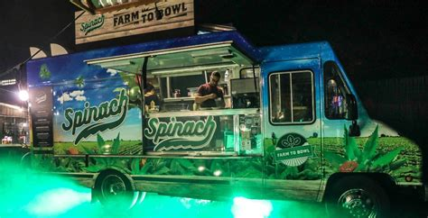 food truck spinach themed cannabis farms vancouver launch grow its dailyhive