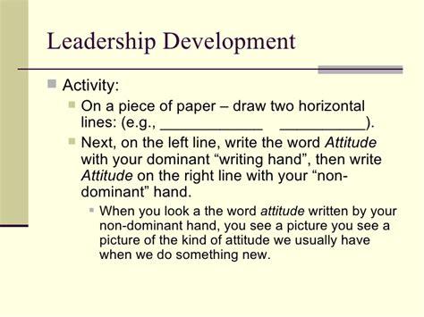 leadership training powerpoint