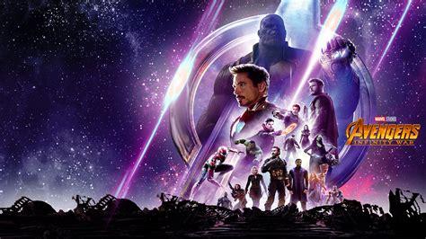 avengers infinity war hd poster laptop full hd