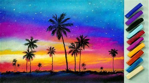 landscape drawing  beginners  soft pastels