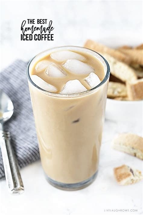 You probably agree with me on that, or you wouldn't be reading this. Homemade Iced Coffee | Go-To Coffee - Live Laugh Rowe