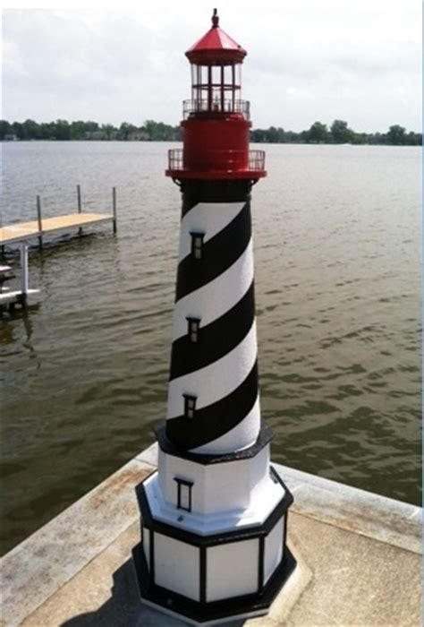lawn lighthouses  accents authentic replicas