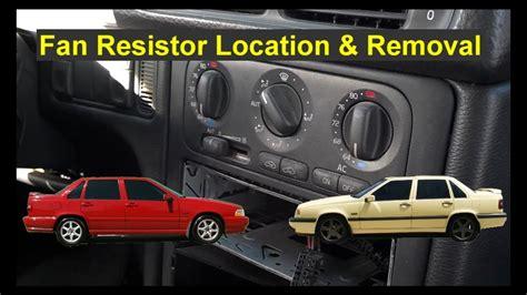 fan motor  works  high resistor location