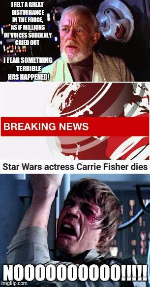 Carrie Fisher Memes - r i p carrie fisher imgflip