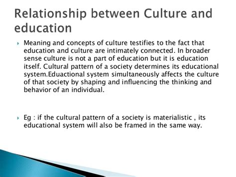 education  culture  general