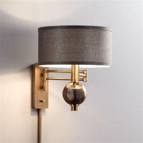 richford polished brass plug in swing arm wall l 1r145 ls plus