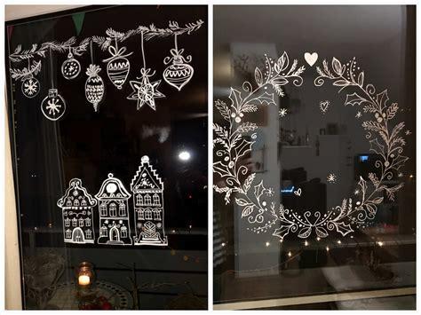 Weihnachtsdeko Fenster Kreidemarker by Kreidemarker Weihnachten Paganstva Org