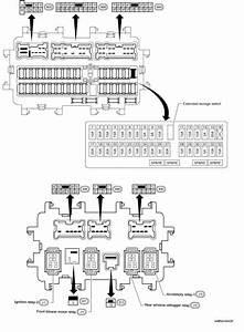 Nissan Rogue Service Manual  Fuse Block