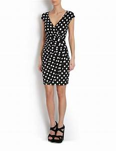 robe portefeuille a pois couture pinterest With robe portefeuille chic