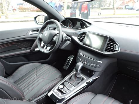 Interni Peugeot 308 by Test Drive Peugeot 308 Sw Gt La Sportiva Per Tutti I