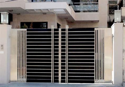 contemporary gate designs for homes home gate design home design ideas