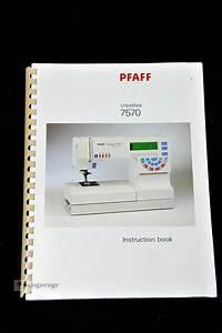 Gorgeous Pfaff 7570 Sewing  U0026 Embroidery Machine Idt