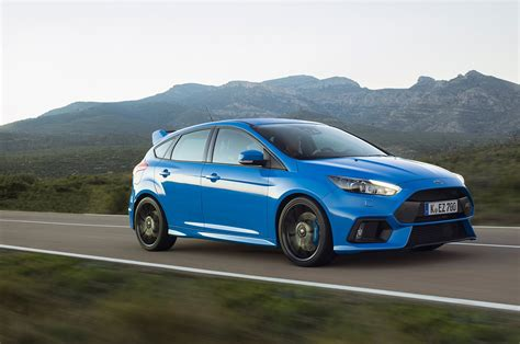 The Ford Focus Rs' Drift Mode Was Developed By Accident
